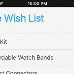 My Apple Wish List