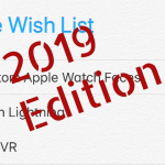 My Apple Wish List 2019 Edition